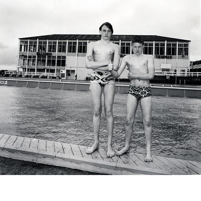 Boys by Pool Barry Island
