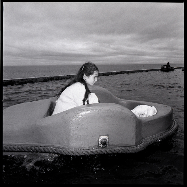 Girl in Boating Pond