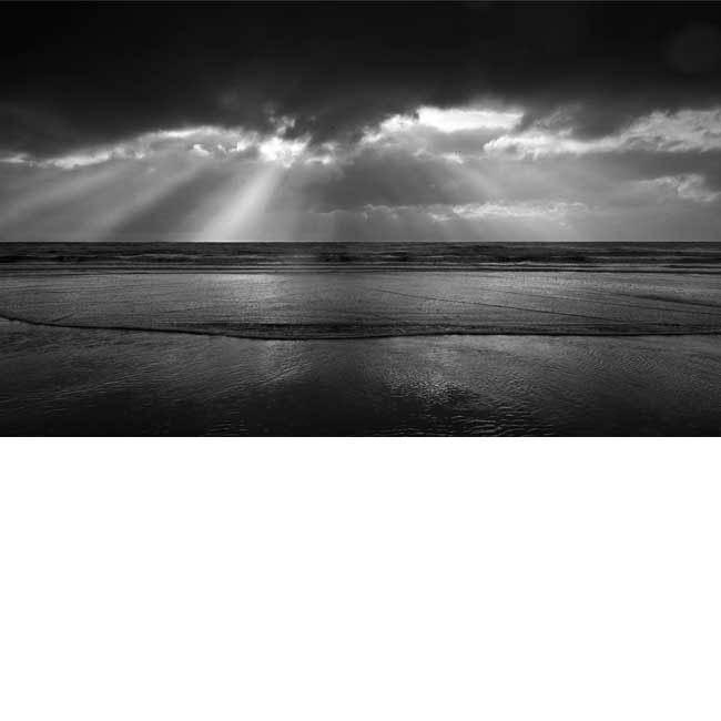 Light off Blackpool Beach