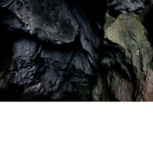 Rocks in Sea Cave