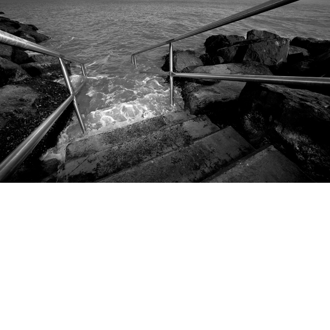 Steps into Sea No 4