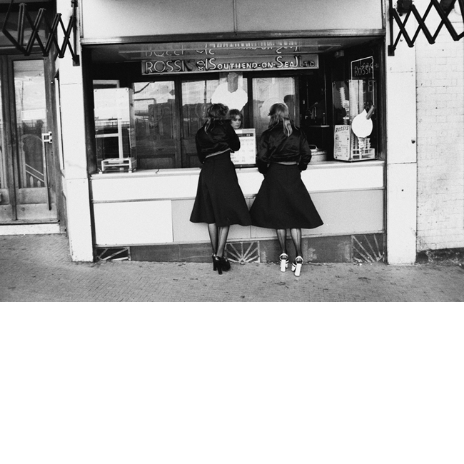 Two Girls in Southend