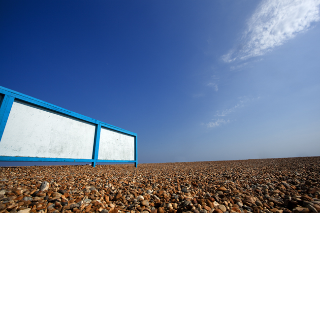 Windbreak on Beach